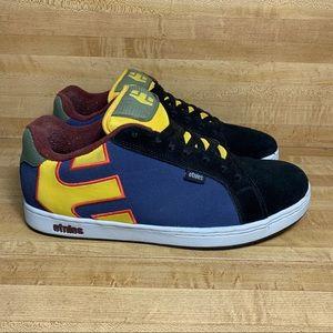 Vintage Men's ETNIES Fader multicolor Skate Shoes